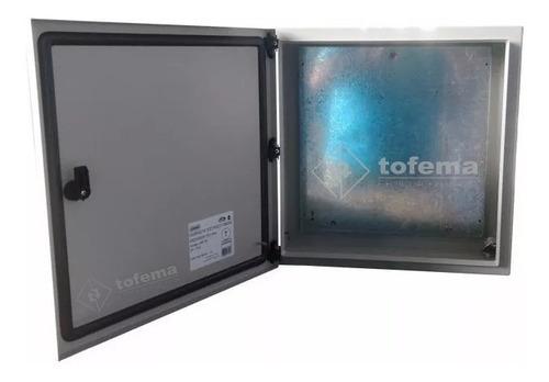 Gabinete Estanco Metálico 450x450x150 99156- Genrod - Tofema