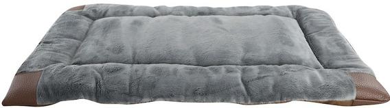Cama Perro Plush Crate Pad Gris 106x73cm Animal Planet