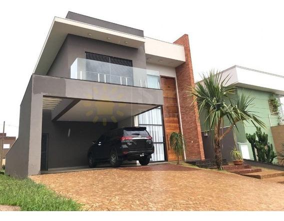 Vendo Casa Em Ribeirão Preto. Condomínio Quinta Da Primavera. - Cc01973 - 34210783
