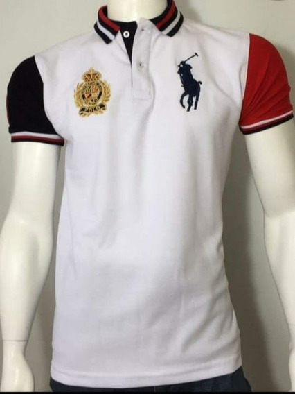 Lote De 10 Playeras Polo Ch Mayoreo