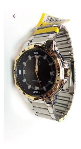 Reloj Hombre Original Q&q + Envío Gratis