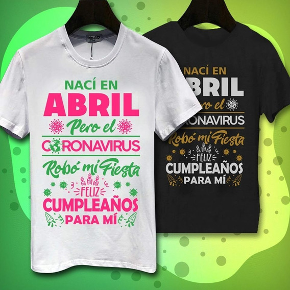 Playera Abril Pandemia