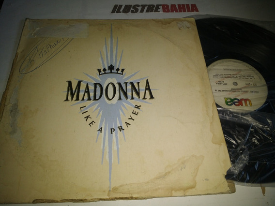 2 Lps Promo Madonna Like A Prayer Pepsi + Lp Mix Everybody