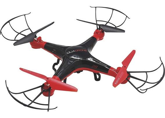 Drone Quadrone E-merse+ Fone De Ouvido Fpv E Câmera Hd 720p