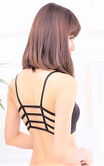 Bralette Crop Top Brasier Blusas Corpiño Sexy Moda4