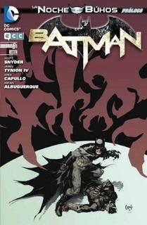 Batman La Noche De Los Buhos Prologo - Dc Comics