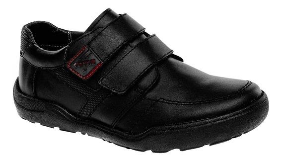 Zapatos Escolares Marca Yuyin De Piel 28030 Dog