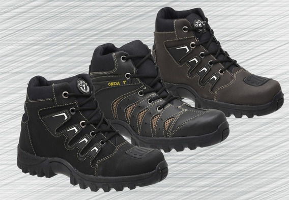 Kit 3 Pares De Bota Coturno Adventure