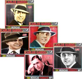 Carlos Gardel Discografia 50 Cd Com 970 Músicas