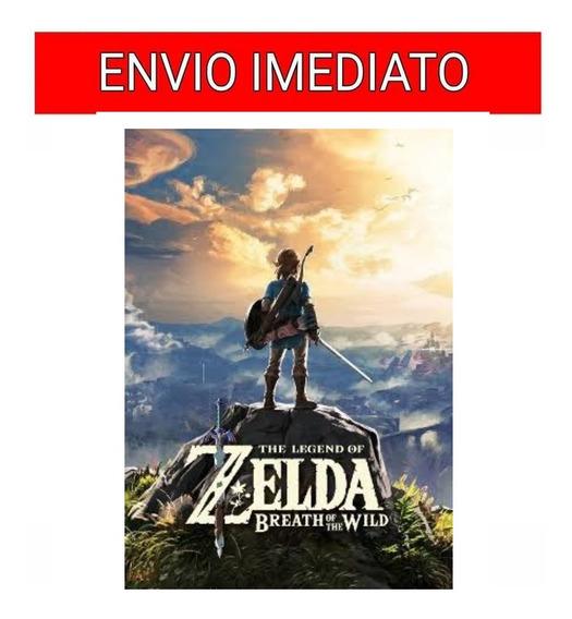 The Legend Of Zelda:breath Of The Nintendo Switch 16 Dígitos