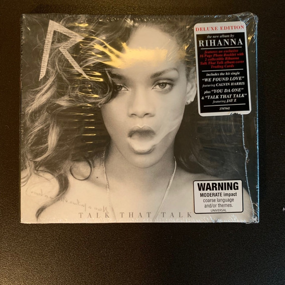 Cd Rihanna Talk That Talk Deluxe Digipak - Lacrado