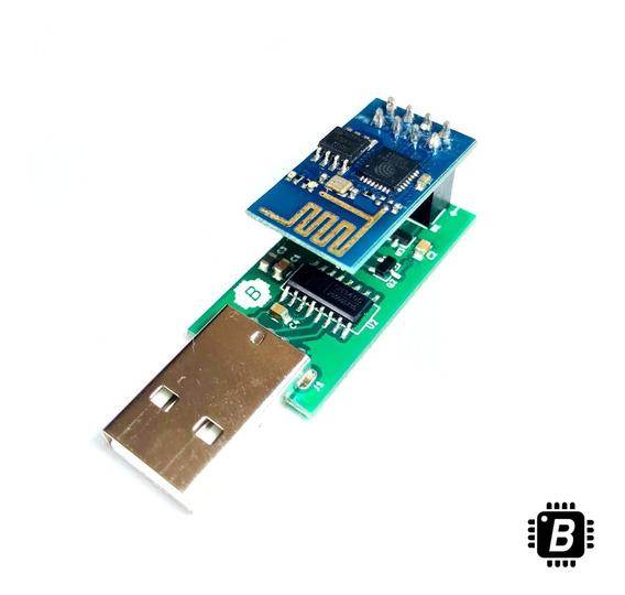 Esp8266 Kit Com Gravador Usb + Adaptador Protoboard Arduino