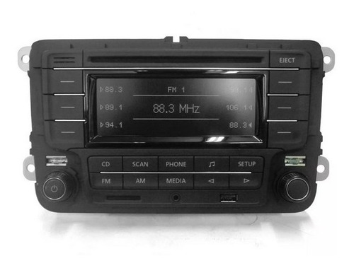 Som Cd Player Fm Original Volkswagen Fox Spacefox Destravado