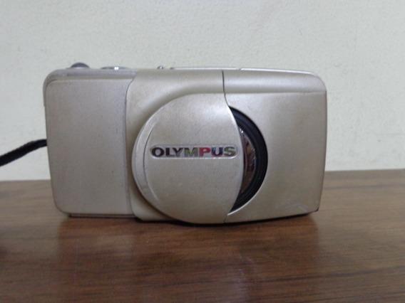Câmera Olympus Stylus Epic Zoom 38-115mm Filme 35mm