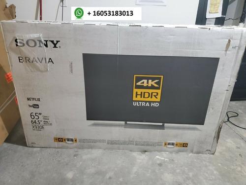 Sony Xbr65x930e 65 2160p 4k Hdr Uhd Led Smart Tv