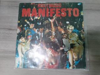 Lp Roxy Music Manifesto 1979 Glam New Wave/ Fret Gratis