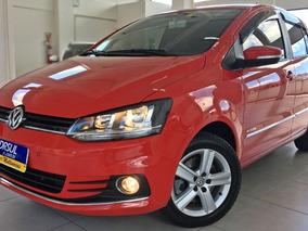 Volkswagen Fox Highline 1.6 I-motion 2016 Vermelho Flex