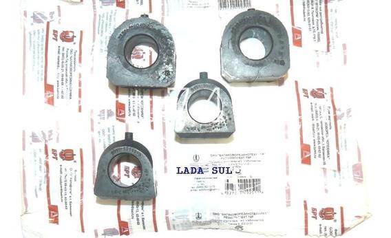 Kit Buchas Da Barra Estabilizadora Lada Niva Russa Originais