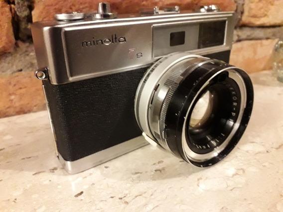Camera Fotográfica Analógica Minolta 7s