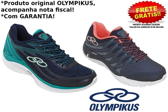 Tênis Olympikus Feminino Starter Ou Supra Original Com Nota