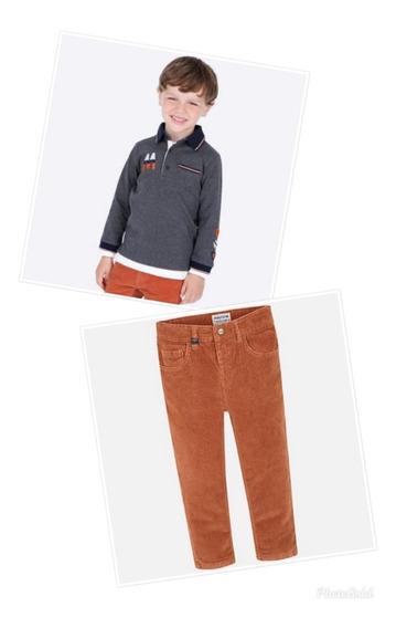 Conjunto Mayoral 2 Piezas Playera Polo Y Pantalon 4109-537