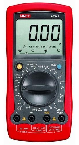 Multimetro Digital Profesional Ut105 De Alta Precisión