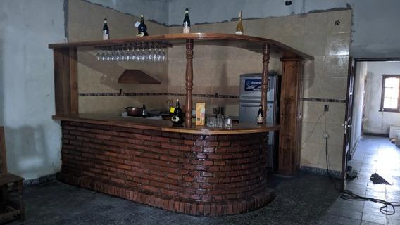 Barra Bar Algarrobo A Medida Muebles