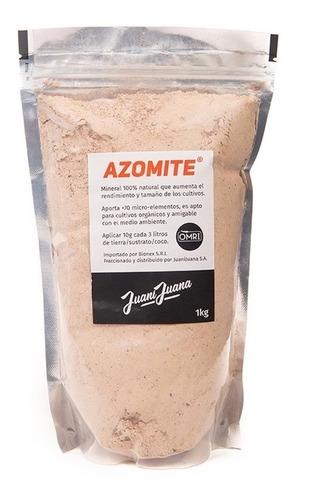 Imagen 1 de 1 de Azomite 1kg Todos Los Nutrientes Organico