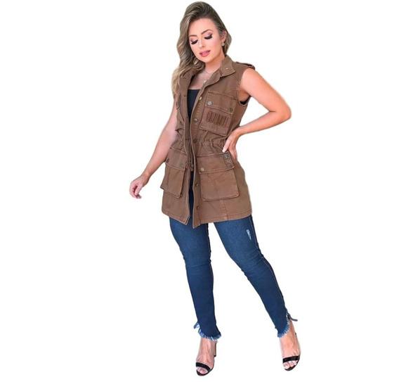 Vestido Colete Blusão Jaqueta Jeans Lança Perfume Lançamento