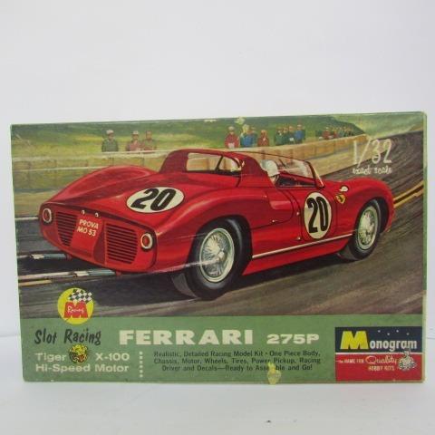 Escala 1/32 Monogram Ferrari 275p Slot Racers Jorgetrens