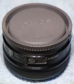 Lente Sony 16-50mm 3.5-5.6 Oss