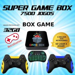 Super Game Box Hd Video Game Retro Multijogos Com 7000 Jogos