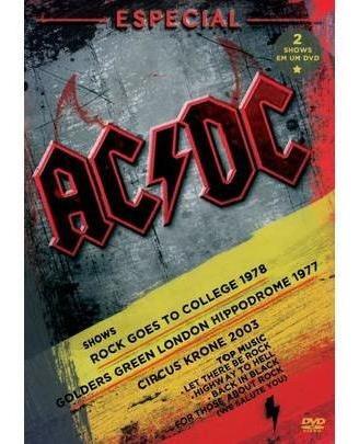 Ac/dc - Especial Shows - Dvd