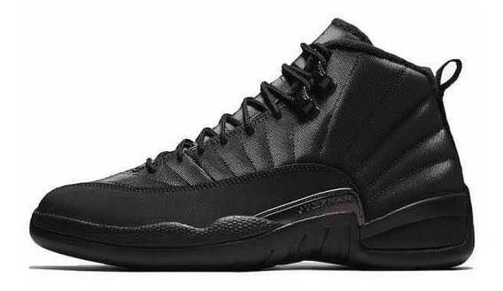 Jordan 12 Black Winter Retro Nuevos Originales 28.5 Cm 8.5 M