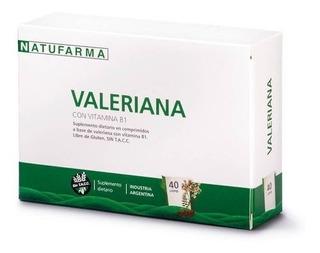 Natufarma Valeriana Con Vitamina B1 40 Comprimidos