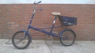 Bicicleta Multiuso - Con Cajon De Carga