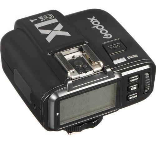 Transmissor De Disparador S/ Fio Flash Godox X1t-c Ttl Canon