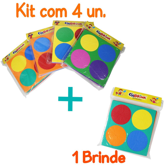 Kit Discos De Frações Em E.v.a + Brinde /ciabrink (cód.1299)