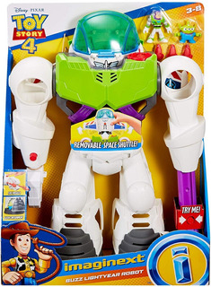 Imaginext Toy Story 4 Buzz Lightyear Robot Gigante
