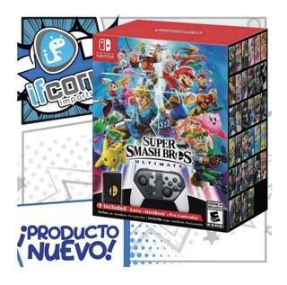 Super Smash Bros Ultimate Special Edition Smash Especial