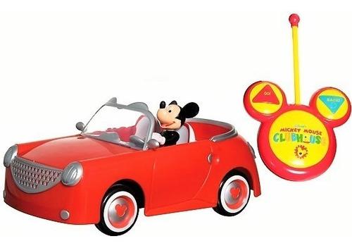 Carro Mickey Juguete Control Remoto Vehículo Original 180062