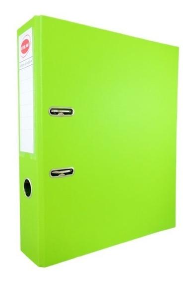 Bibliorato Forrado Color Pvc Oficio 1ºmarca X 10 Unidades