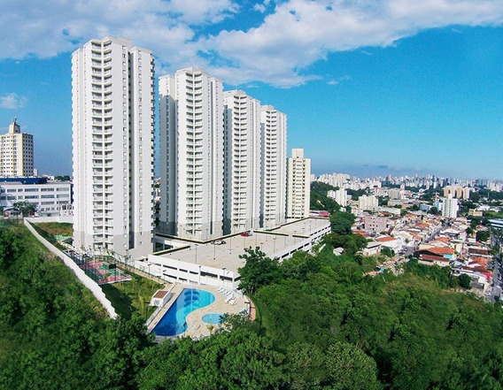 Apartamento 2 Quartos Com Varanda 1 Vaga À Venda.