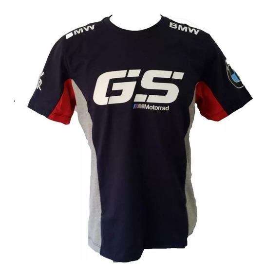 Camisa Bmw Gs Dakar 1200gs 800gs Camiseta Algodão Ref.236