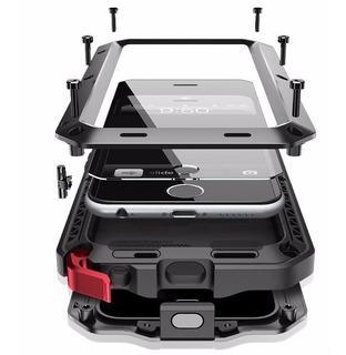 Funda Armor Samsung Note 10 Note 10 Plus Uso Rudo Metal+mica