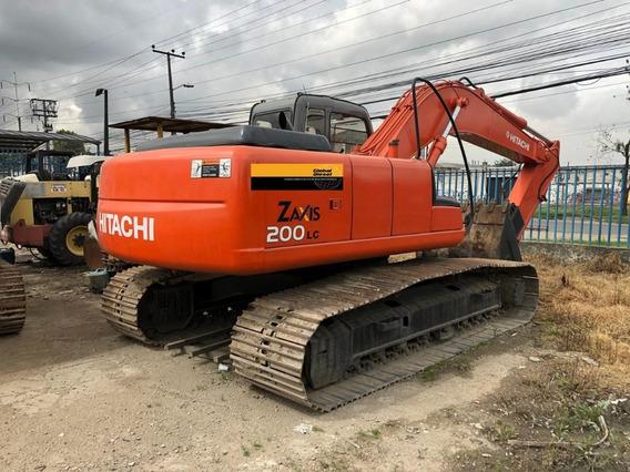 Retro Excavadora Hitachi Zx200lc