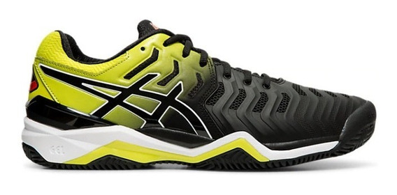 Zapatillas Asics Gel Resolution 7 Clay Tenis-padel Negro
