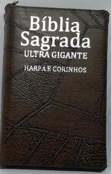 Bíblia Ultragigante -zíper - C/harpa - Corres - Cpp - Alpha