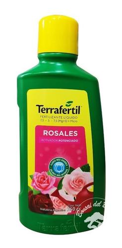Nutriente Para Rosales - Vitaflor Terrafertil X 750cc