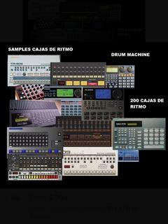 Samples De 200 Cajas De Ritmo - Drums Machine